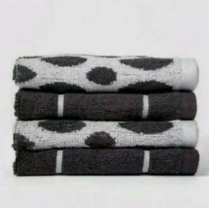 8 count Washcloths NIP 2 designs